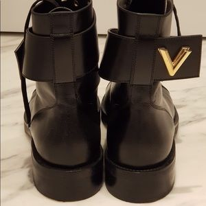 Louis Vuitton Shoes - Louis Vuitton combat boots